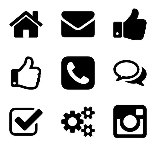 Effective iconography for web design